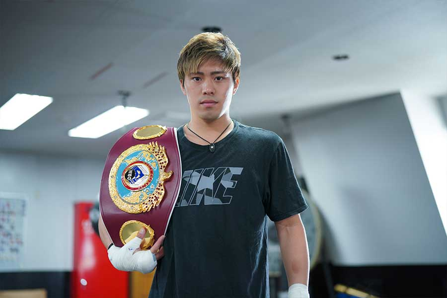 WBO世界スーパーフェザー級王者・伊藤雅雪は中量級で今、海外から大きな注目を浴びる存在だ【写真:荒川祐史】