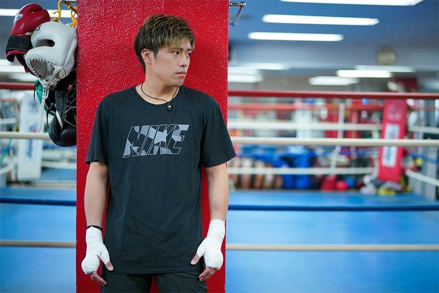 「ボクシングを続けていて良かった」と振り返る伊藤雅雪【写真:荒川祐史】