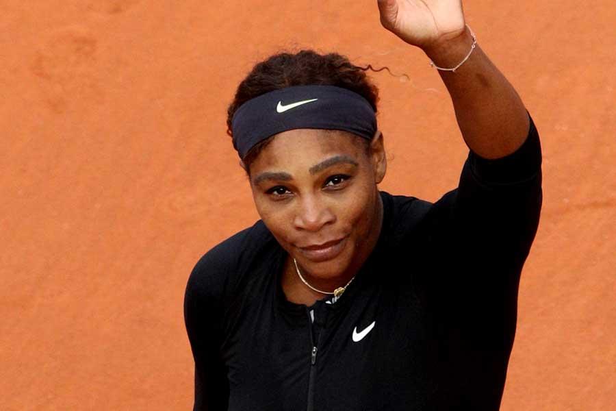 全仏オープン2回戦進出を決めたセリーナ・ウィリアムズ【写真:Getty Images】