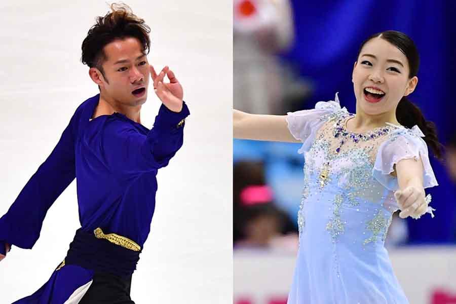 高橋大輔(左)と紀平梨花【写真:Getty Images】