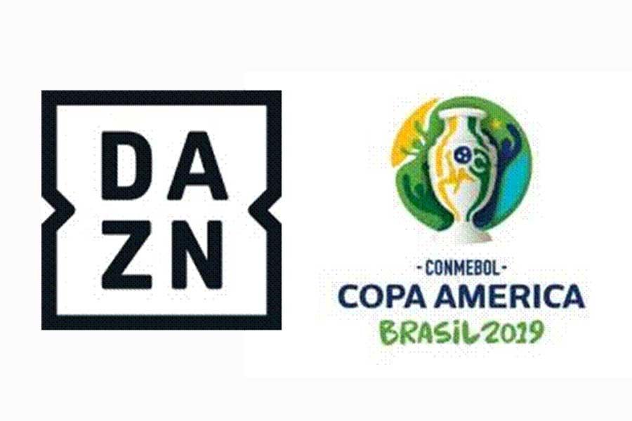 DAZNはコパ・アメリカの全試合を独占ライブ配信することを発表した【写真:DAZN】