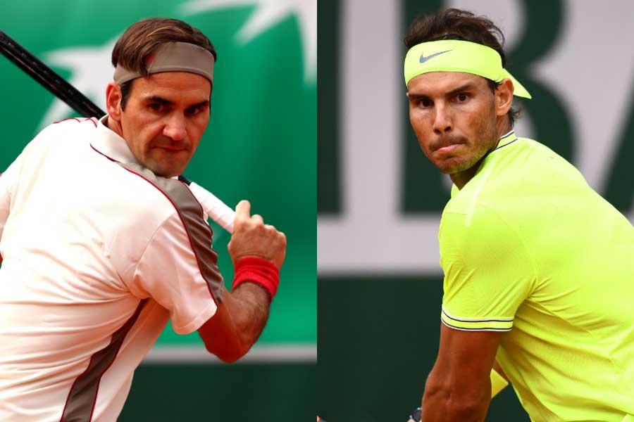 全仏オープン準決勝でフェデラーとナダルの対戦が実現【写真:Getty Images】