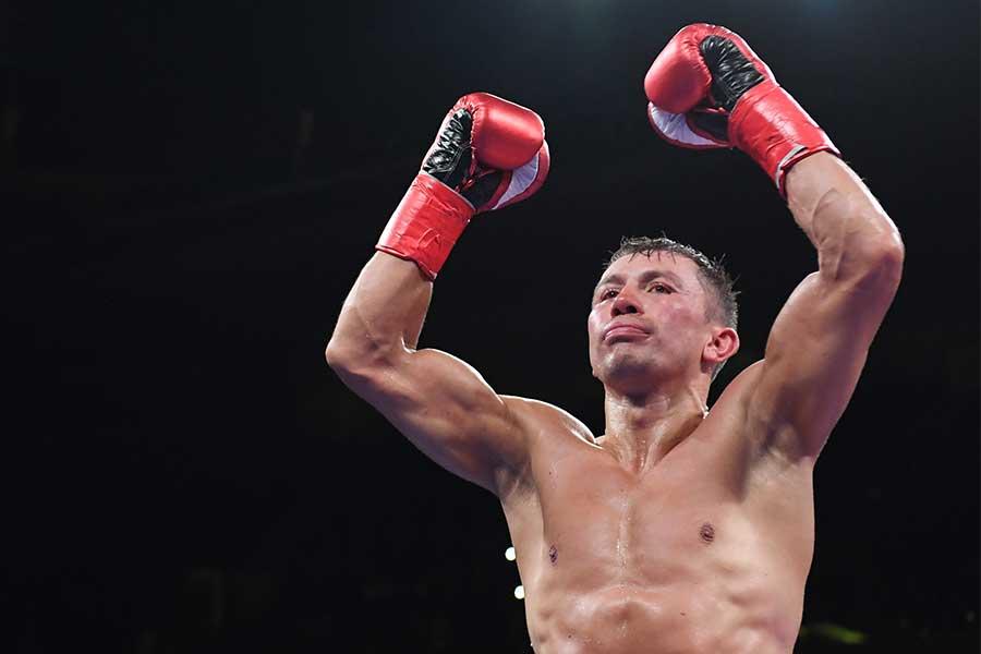 ゲンナジー・ゴロフキンが4回KO勝ちを収める【写真:Getty Images】