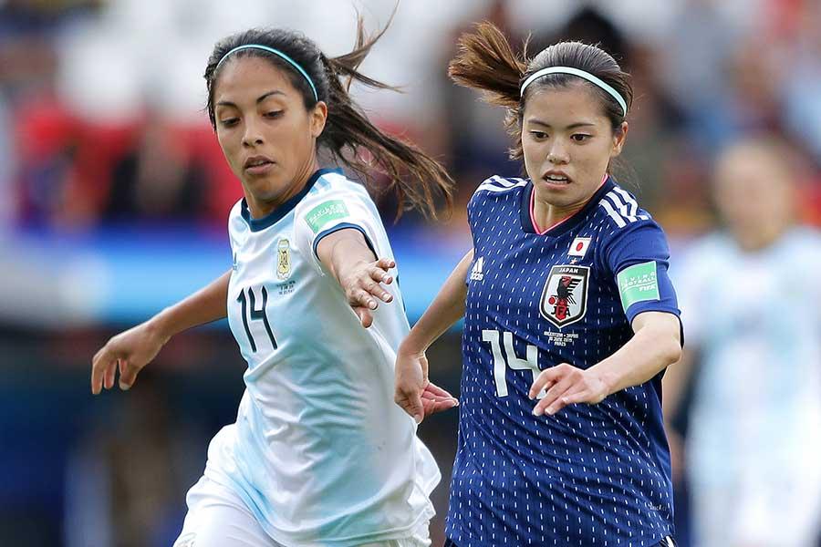 """日本代表は""""格下""""アルゼンチン代表相手に勝ち点1にとどまった【写真:Getty Images】"""