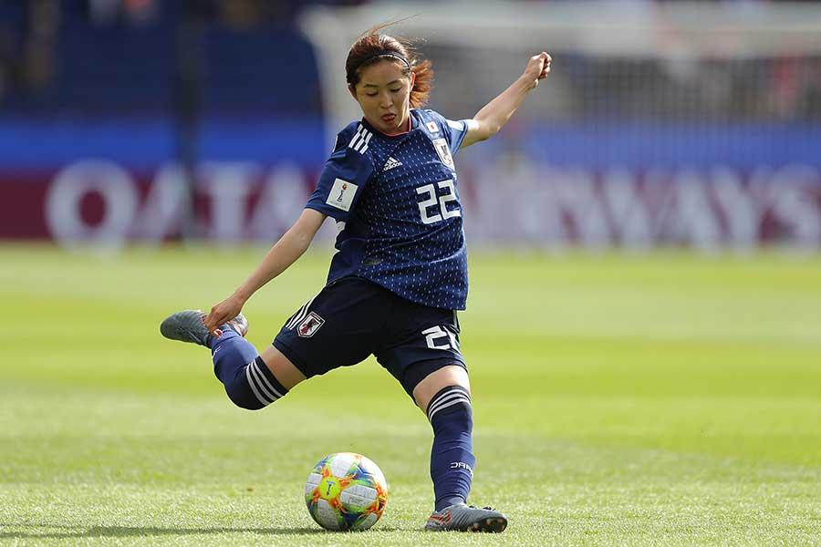 女子ワールドカップに出場している清水梨紗【写真:Getty Images】