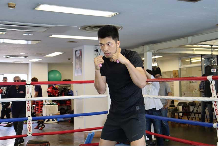 リベンジマッチに向けて調整した村田諒太【写真:浜田洋平】