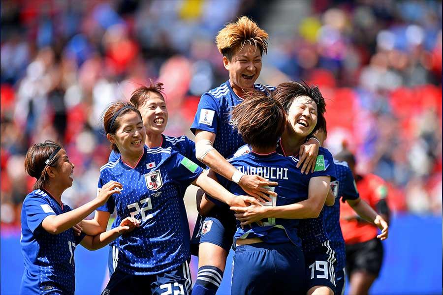 日本はスコットランドに2-1で勝利をおさめた【写真:Getty Images】