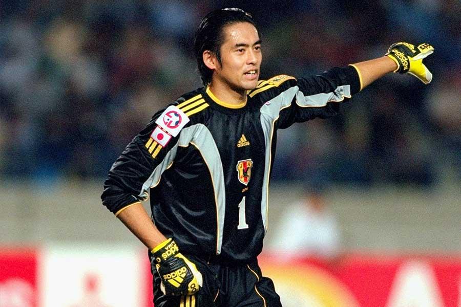 川口氏は国際Aマッチ通算116試合に出場した経験を持つ【写真:Getty Images】