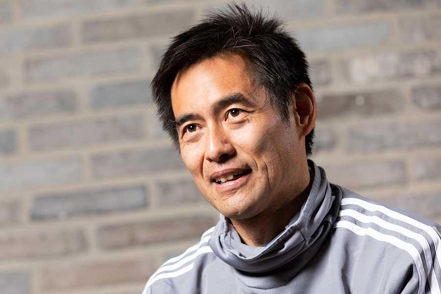 川口能活氏は1999年のコパ・アメリカに出場した日本代表の一員だった【写真:松橋晶子】