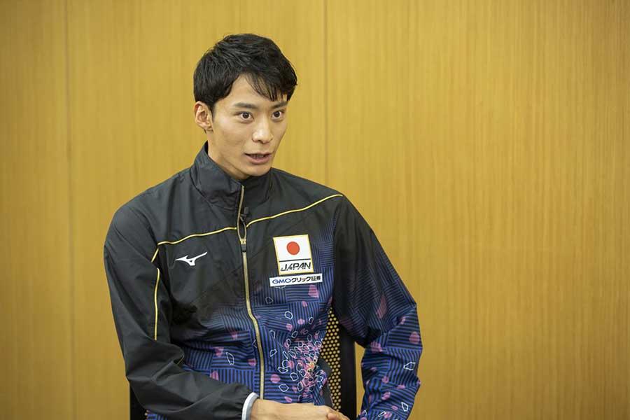 世界水泳への思いを語った入江陵介【写真提供:テレビ朝日】