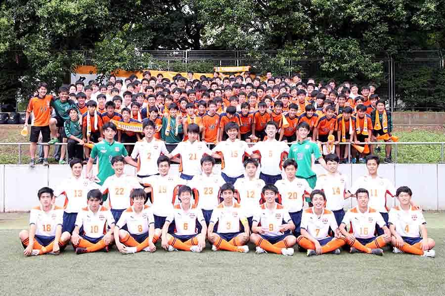 国学院久我山は、公式戦14戦全勝でインターハイへ【写真:平野貴也】