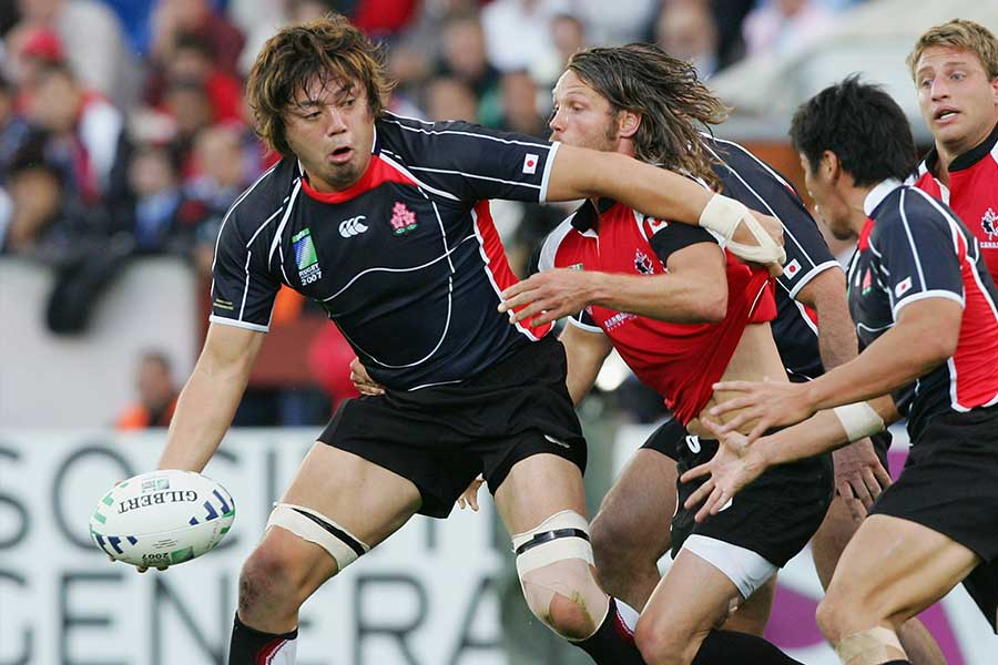 日本代表ではNO8として活躍した箕内拓郎氏【写真:Getty Images】
