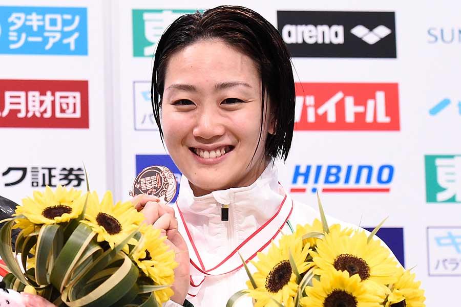 5月のジャパンオープンで代表切符を掴んだ青木智美【写真:Getty Images】