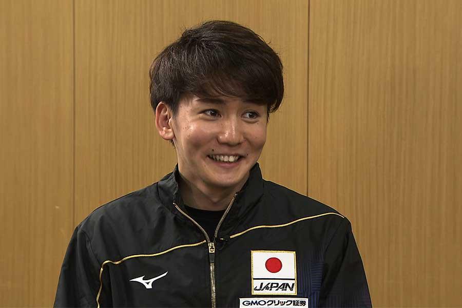 江原騎士が「気持ちの強さ」No.1に挙げた代表選手は?【写真:テレビ朝日】