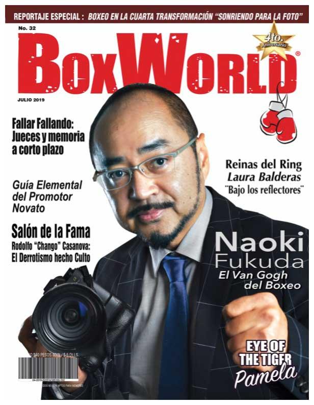 福田氏が表紙を飾った実際の海外誌(本人提供)