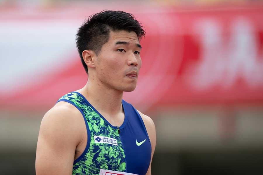 男子200m予選を全体1位で通過した小池祐貴【写真:奥井隆史】