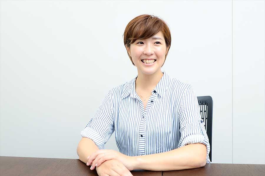 永里さんは「日本女子サッカーの歴史において重要なW杯が始まる」と話した【写真:荒川祐史】