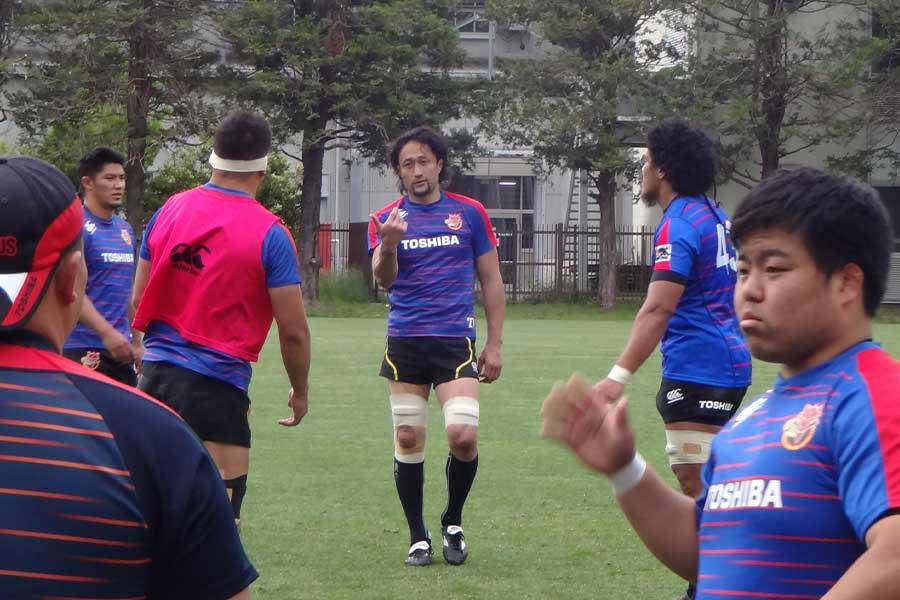 大野は、日本代表について「4勝できる力は十分についている」と話した【写真:吉田宏】