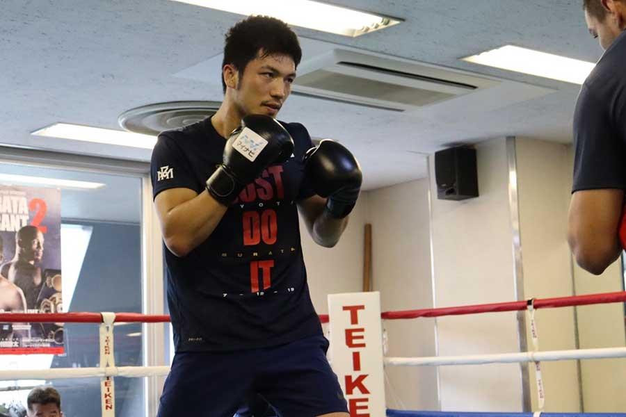 前WBA世界ミドル級王者・村田諒太【写真:浜田洋平】
