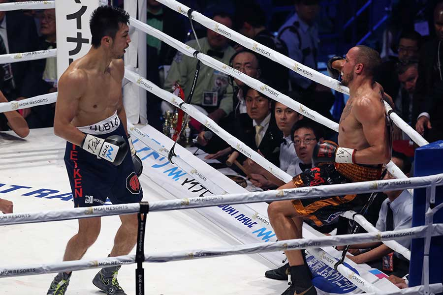 村田諒太がロブ・ブランに2回TKO勝ち、世界王座奪還に成功【写真:Getty Images】