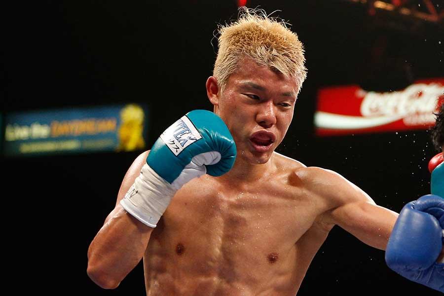 亀田和毅はWBC世界スーパーバンタム級王座統一戦でレイ・バルガスに敗れた【写真:Getty Images】