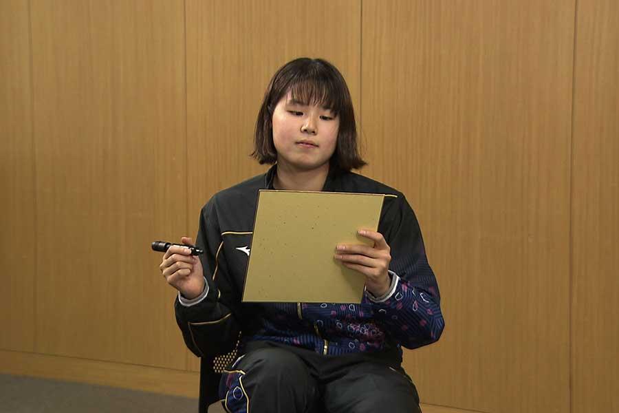 池本凪沙が選ぶ「羨む美しさ」No.1の代表選手は?【写真:テレビ朝日】