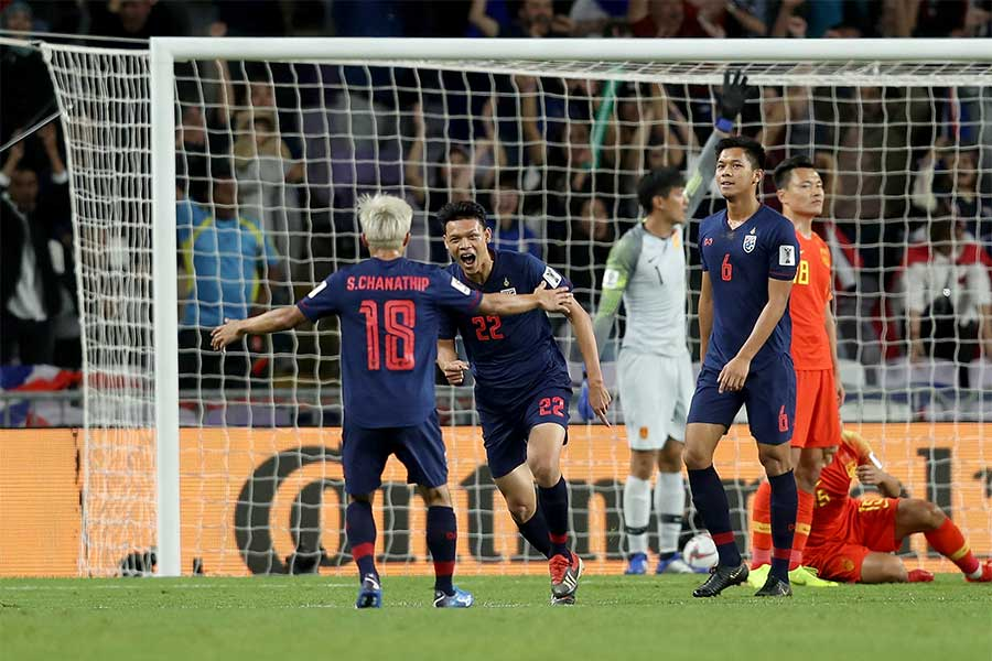 サッカーはタイでも大きな盛り上がりを見せている【写真:Getty Images】