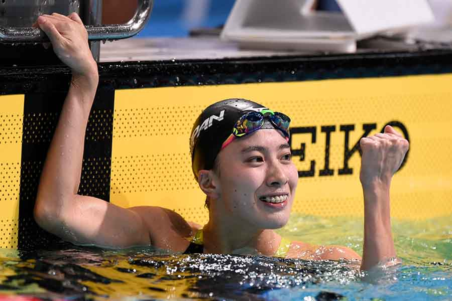 女子200、400m個人メドレーに出場する大橋悠依【写真:Getty Images】
