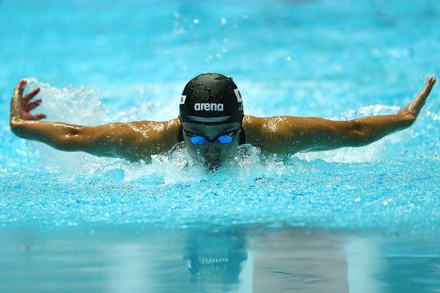 女子200メートル個人メドレー決勝進出を決めた大本里佳【写真:Getty Images】