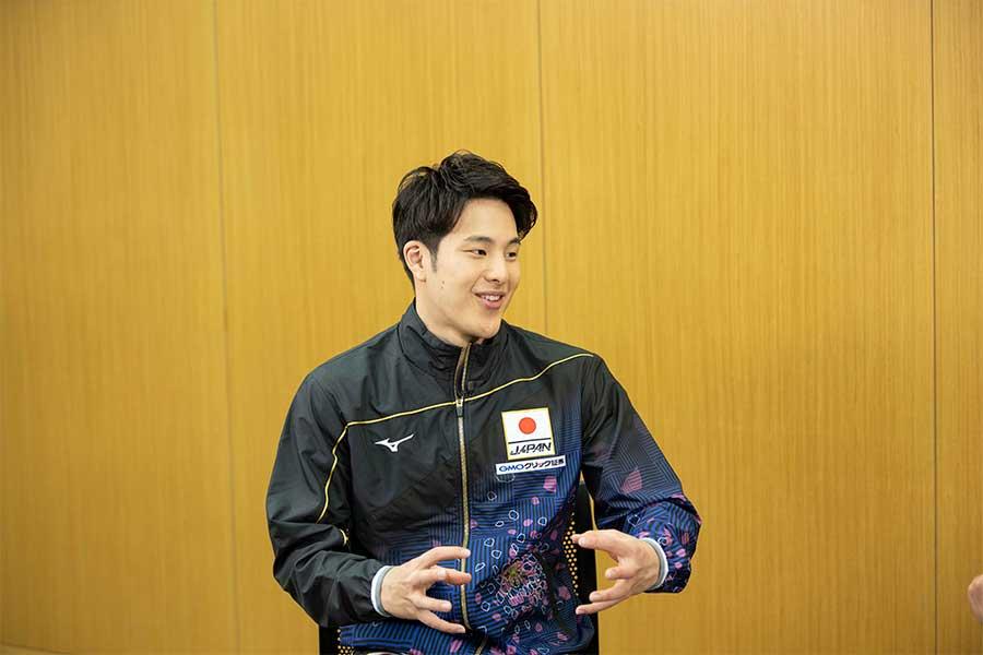 瀬戸大也が選ぶ「こだわり」1位の代表選手は?【写真:テレビ朝日】