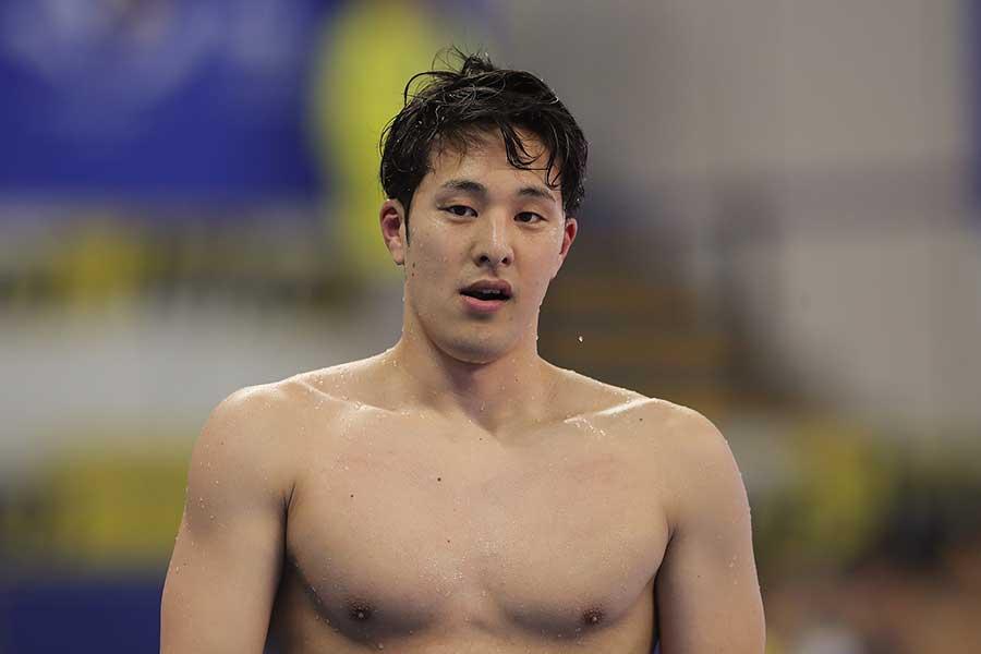 初めて男子主将として世界水泳を迎える瀬戸大也【写真:Getty Images】