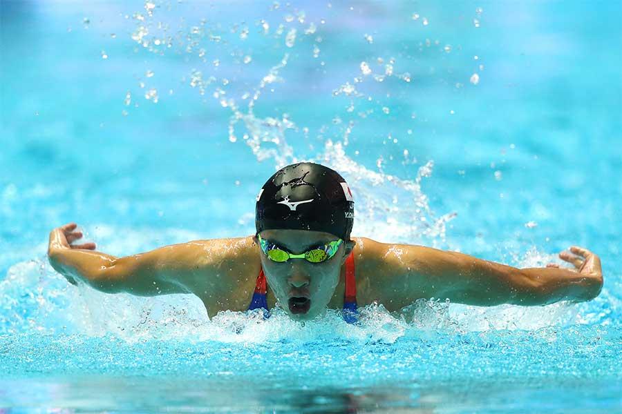 女子200メートル個人メドレーに出場した大橋悠依【写真:Getty Images】