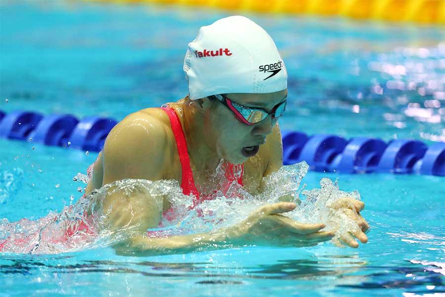 決勝に進出した女子個人メドレー200mのキム・ソヨン【写真:Getty Images】