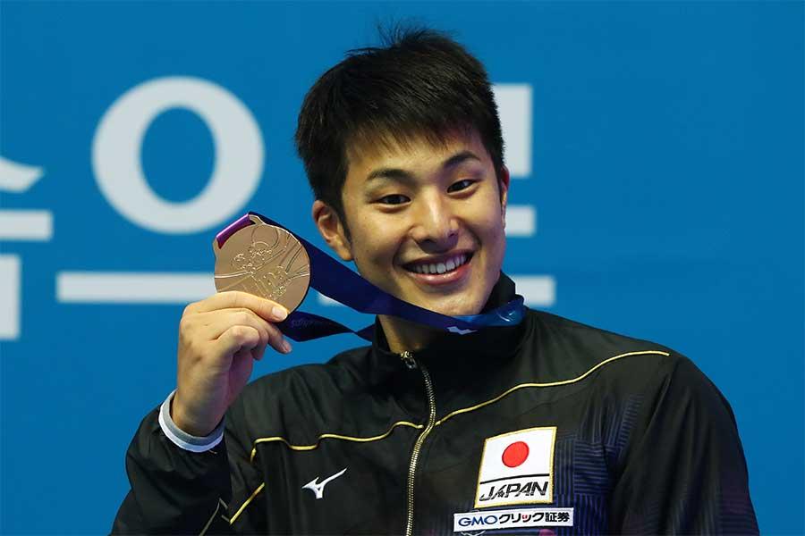 金メダルを獲得した瀬戸大也【写真:Getty Images】