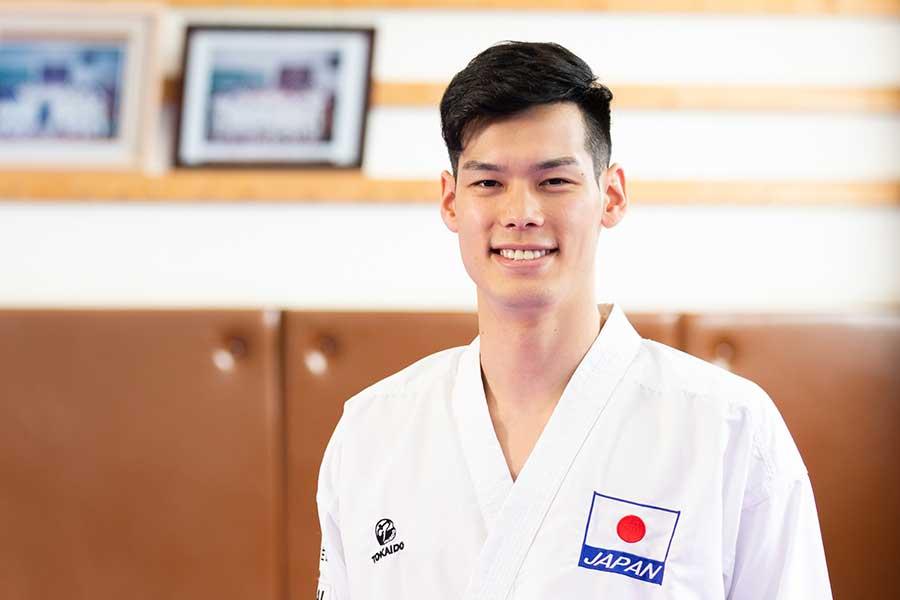 組手75キロ級世界王者の西村拳【写真:松橋晶子】