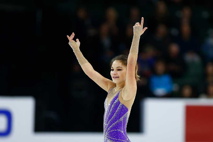 ソフィア・サモドゥロワ【写真:Getty Images】