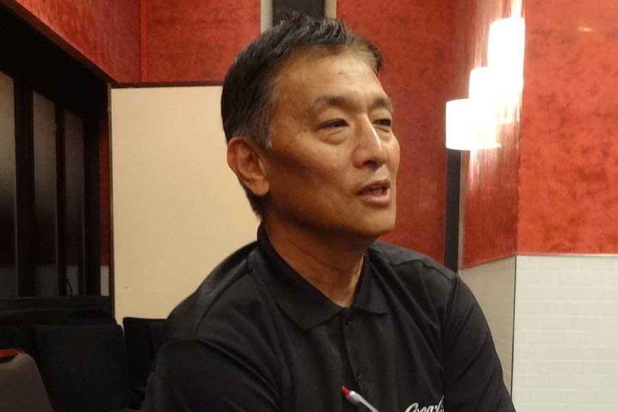 向井氏はワールドカップでのキーポイントは、最後尾にあると言う【写真:吉田宏】