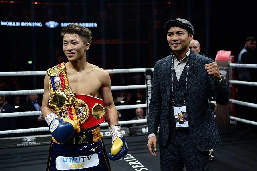 井上尚弥(左)とノニト・ドネア【写真:Getty Images】