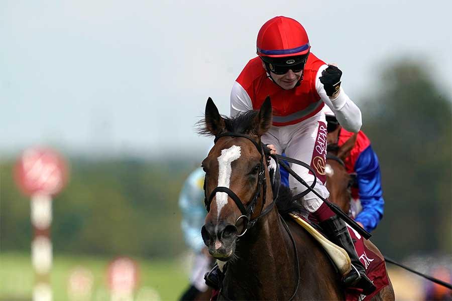 英国牝馬G1ナッソーSで優勝したディアドラ【写真:Getty Images】