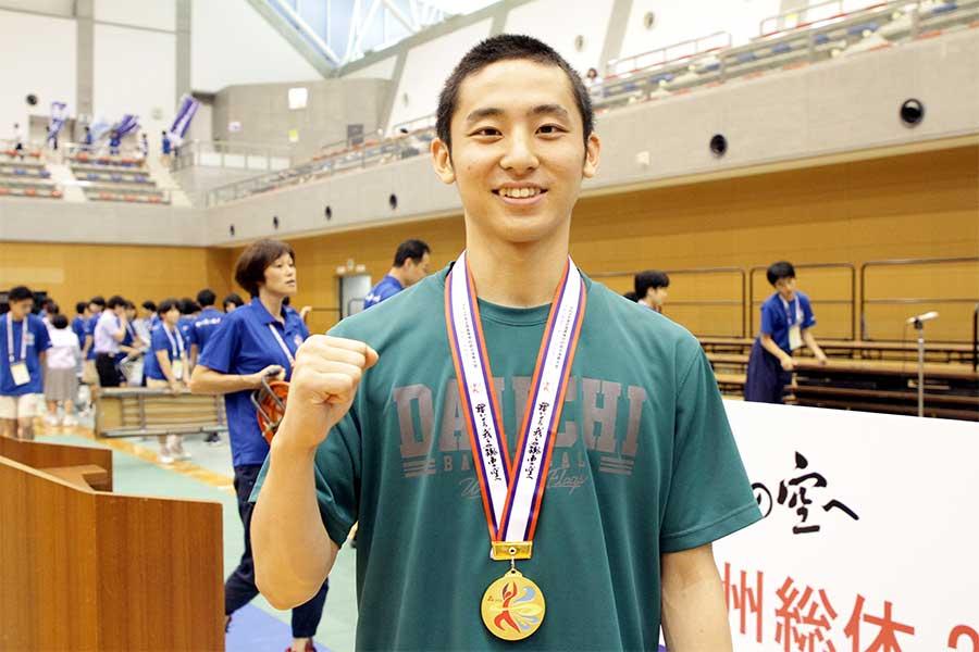 チーム最多の得点を挙げた、ポイントガードを務める河村勇輝【写真:平野貴也】