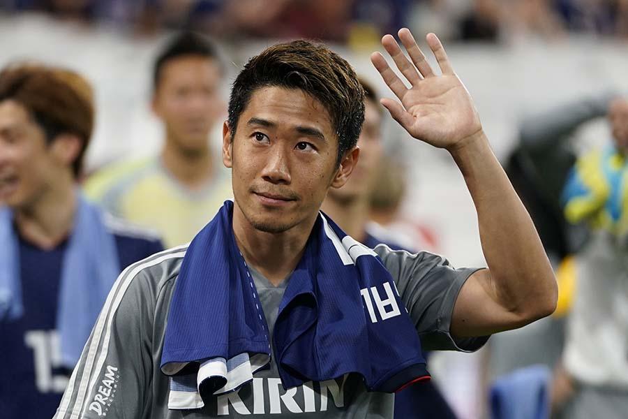 サッカー元日本代表の香川真司【写真:Getty Images】