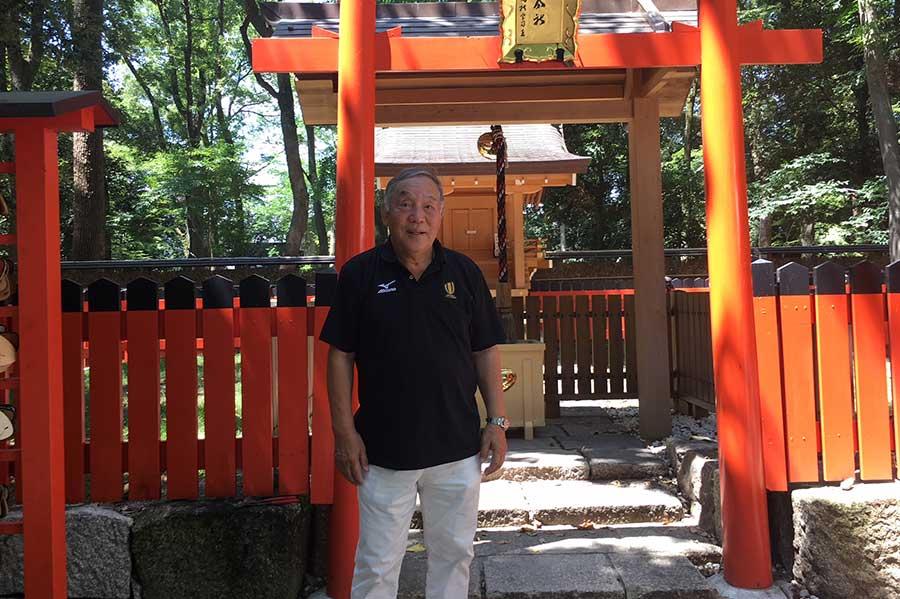 関西ラグビー生誕の地で日本代表への思いを語った坂田好弘氏【写真:吉田宏】