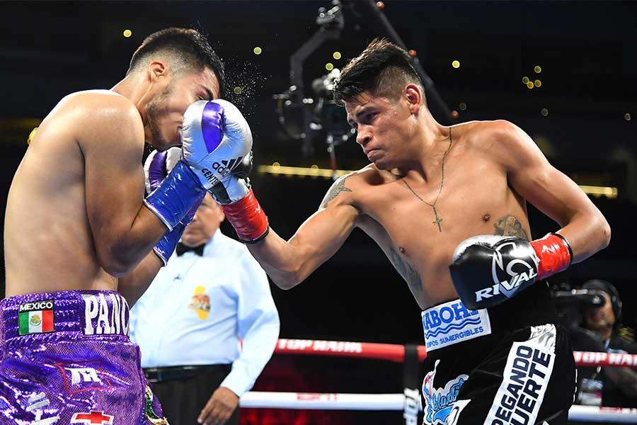 エマヌエル・ナバレッテが3回途中TKO勝ち【写真:Getty Images】