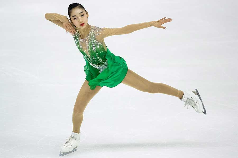 銀メダルを獲得したウィ・ソヨン【写真:Getty Images】