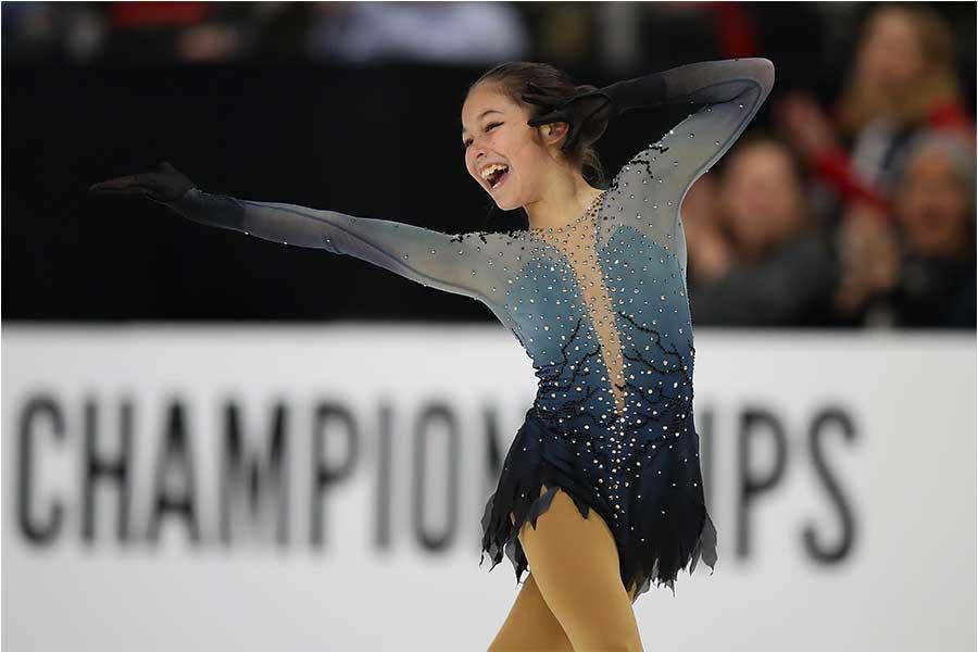 アリサ・リウ【写真:Getty Images】