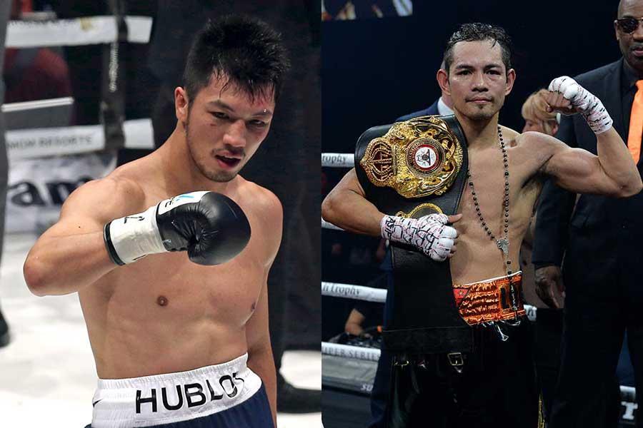 村田諒太(左)とノニト・ドネア【写真:Getty Images】