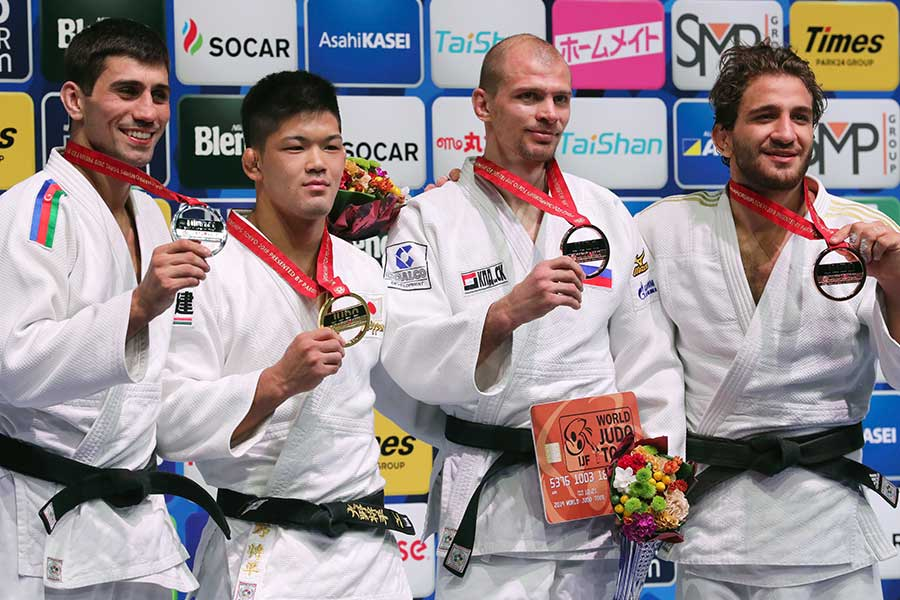 金メダルを獲得した大野将平【写真:Getty Images】