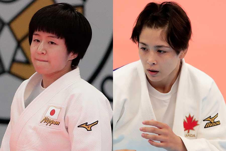 決勝は芳田司と出口クリスタの対戦になった【写真:Getty Images】