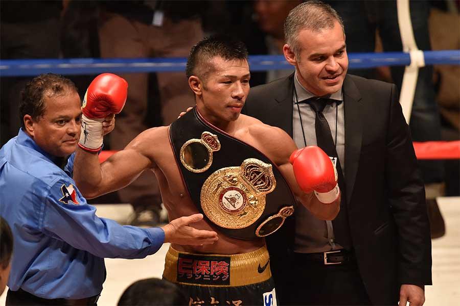 元WBA世界スーパーフェザー級王者・内山高志氏【写真:Getty Images】