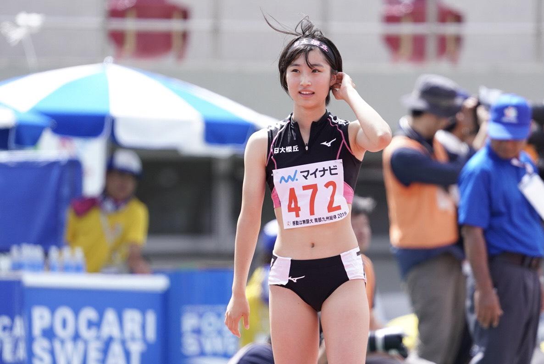 女子400メートル障害で7位となった川村【写真:荒川祐史】